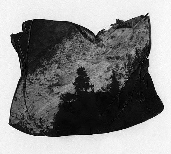 the fold (the Bossons glacier)